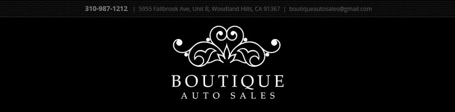 Boutique Auto Sales